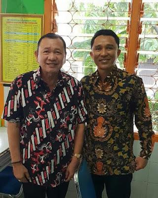 Bupati Parosil Mabsus Silaturrahmi Dengan Mantan Bupati Lampung Barat