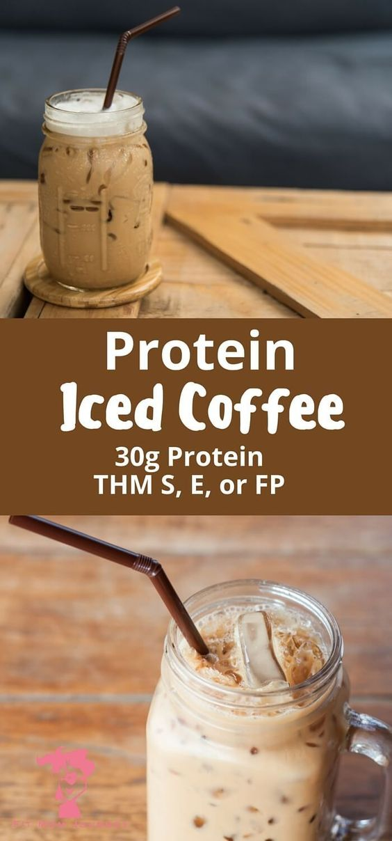 30g Iced Protein Coffee )
