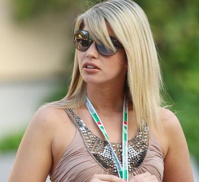 Isabell Reis Pacar dan Istri Pembapap F1 tercantik dan seksi