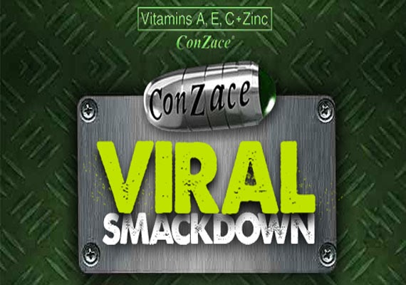 "I am Germ-Free with ""Conzace Viral Smackdown"" – the new facebook app!"