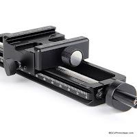 Sunwayfoto MFR-150S Wormdrive Macro Focusing Rail with Screw Knob Clamp