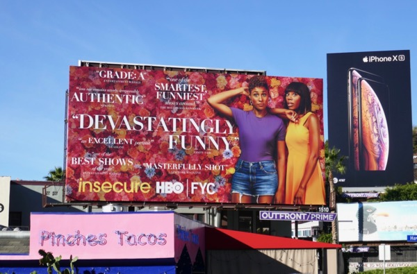 Insecure season 3 HBO FYC billboard