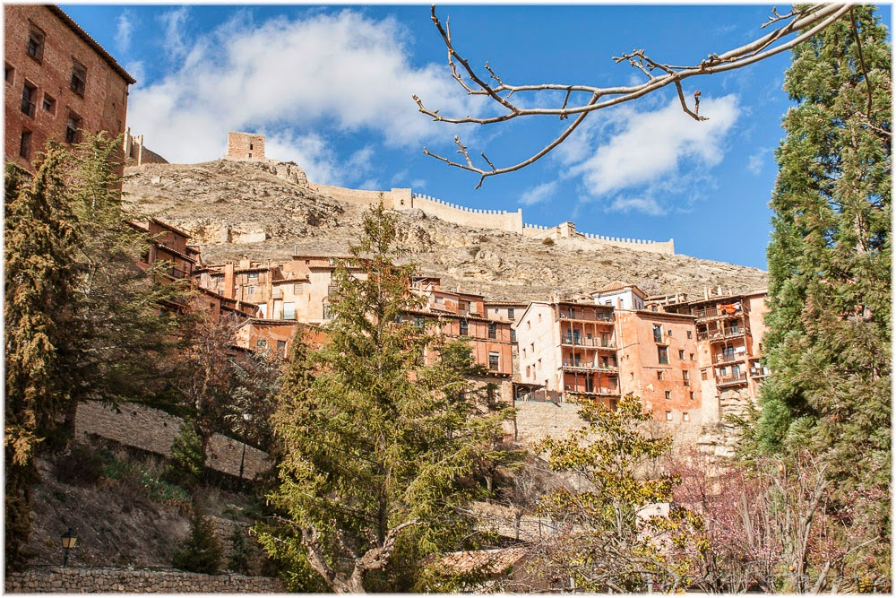 Albarracín, murallas, castillo, Teruel