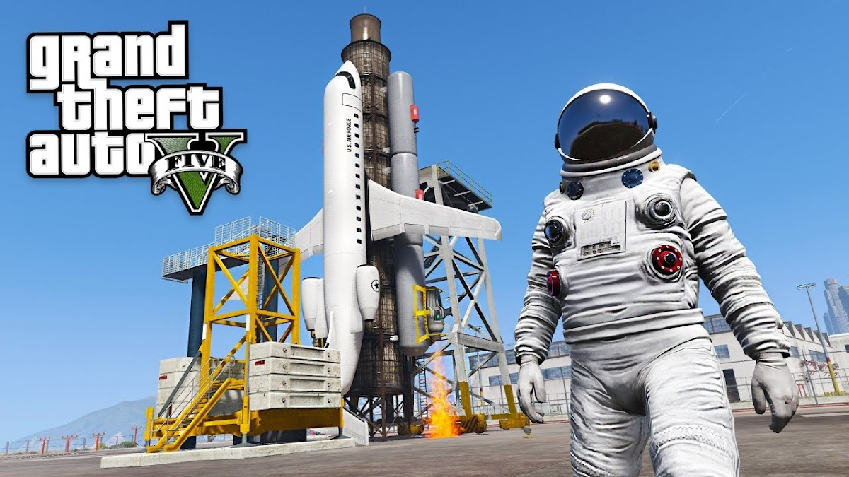 Fans of Grand Theft Auto V can now go to spaceFans of Grand Theft Auto V can now go to space
