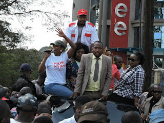 Jubilee Nominations disrupted as city politicians sponsored groups to disrupt. PHOTO | Courtesy