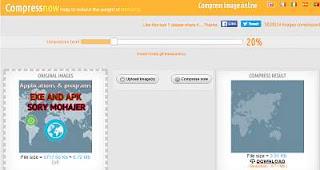 أفضل موقع تقليل حجم الصور مع ضمان جودتها الأصلية أون لاين compressnow
