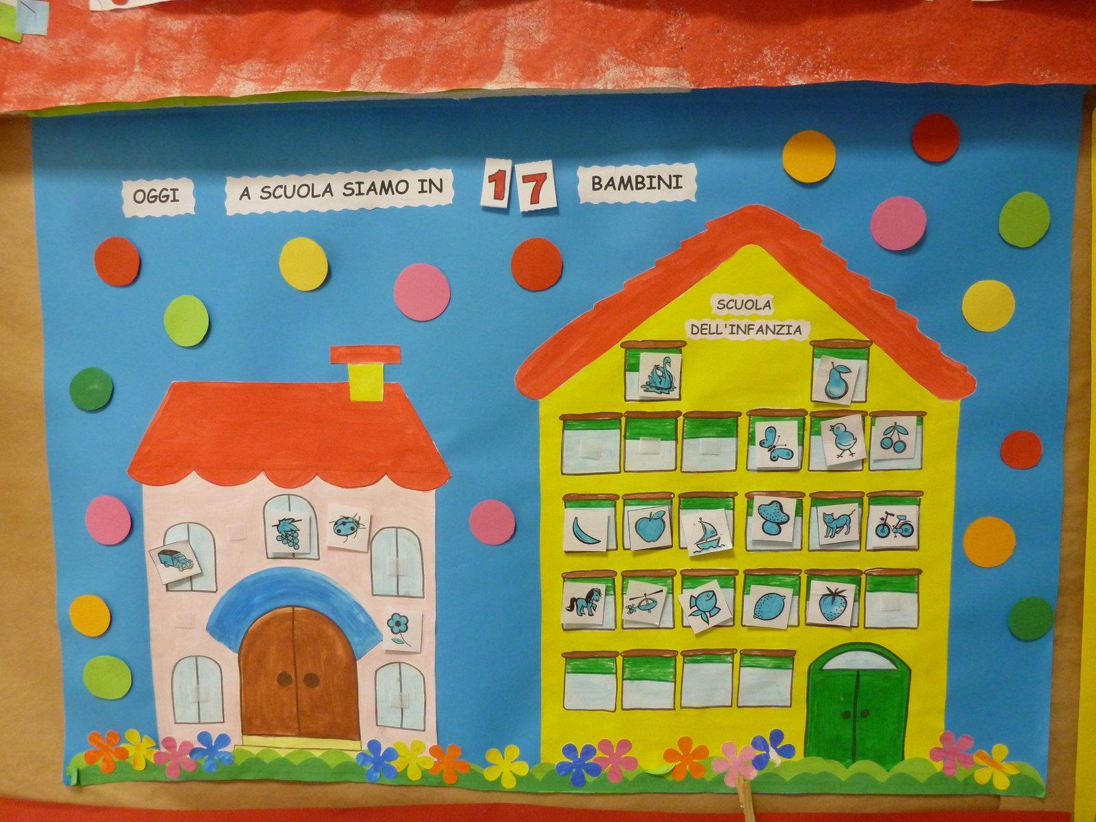 Calendario Bambini Scuola Infanzia.Maestra Caterina L Angolo Della Routine
