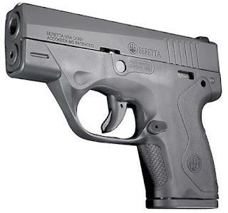 Pistola BU9 Nano Beretta 9mm. semiautomatica e supercompatta
