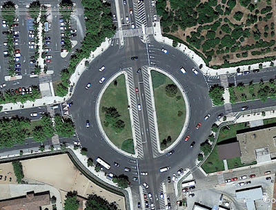 rotonda salamanca en bici rotondas
