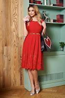 Rochie PrettyGirl Classic Red
