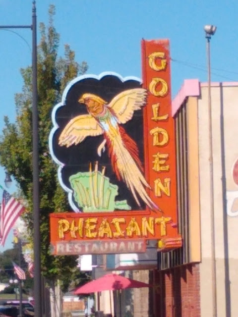The Golden Pheasant Restaurant in Sunnyside (closed, sadly)
