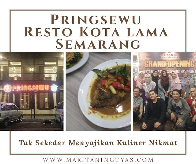 Pringsewu Resto Kota Lama Semarang