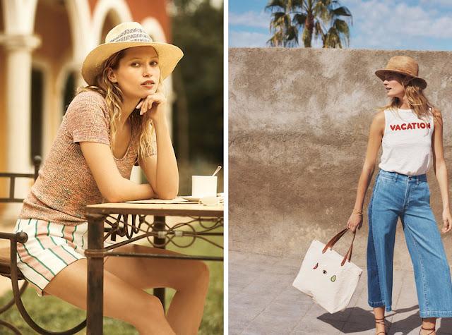 Девушка в соломенной шляпе федоре летом