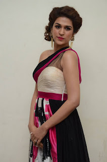 Actress Shraddha Das Latest Stills in Stylish Dress at tur Talkies Audio Launch  0024.jpg