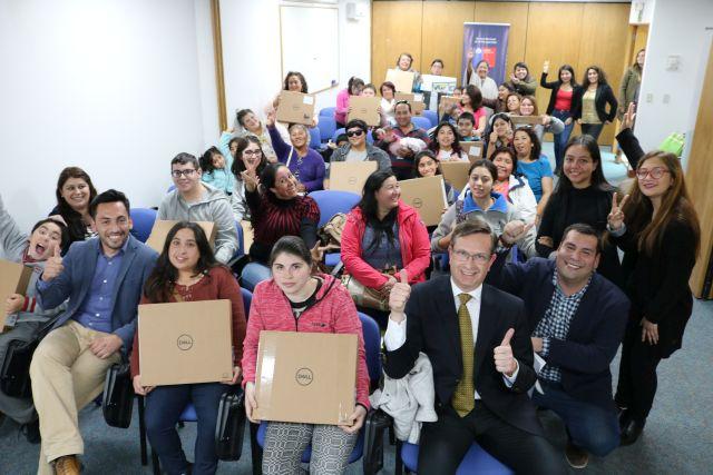 senadis ayuda a estudiantes con discpacidad