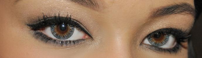 Pinky Paradise, Vassen Rainbow Eyes Grayish Blue, Vassen, Circle Lens, Colored Lens, Coupon Code, circle lenses, circle lenses shop