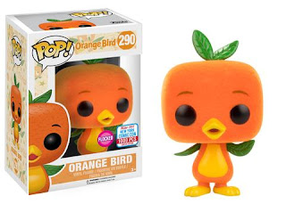 Pop! Disney: Disney Parks – Flocked Orange Bird (1000pc LE)