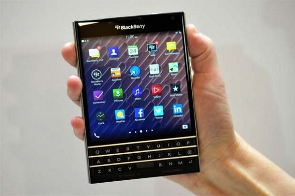Leaking the first picture of the BlackBerry series A