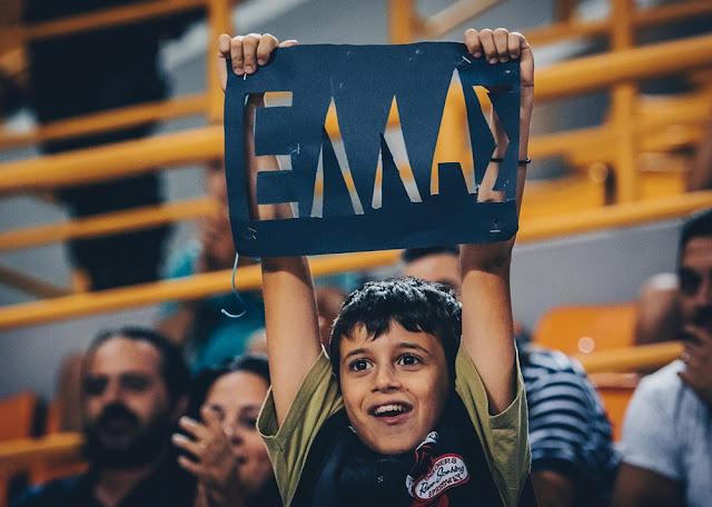 Αποτέλεσμα εικόνας για Δείτε τα καλύτερα στιγμιότυπα από την χθεσινή νίκη της Εθνικής Νέων Ανδρών επί της Ισπανίας