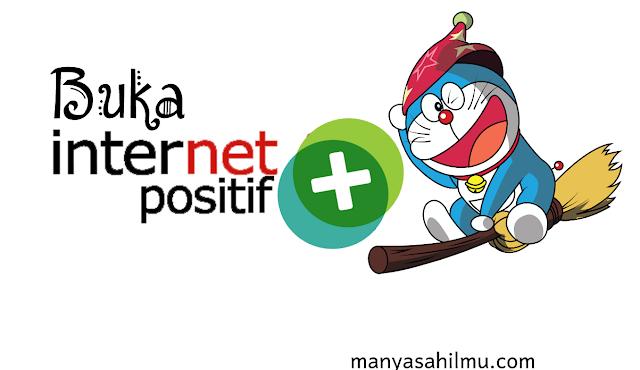 cara membuka situs yang terkena Internet Positif