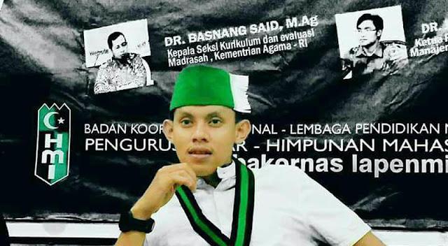 Aktifis PB HMI Mendapat Mandat Ketua Pengurus Wilayah GENETIKA DKI Jakarta