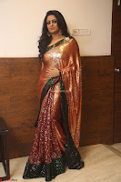 Udaya Bhanu lookssizzling in a Saree Choli at Gautam Nanda music launchi ~ Exclusive Celebrities Galleries 138.JPG
