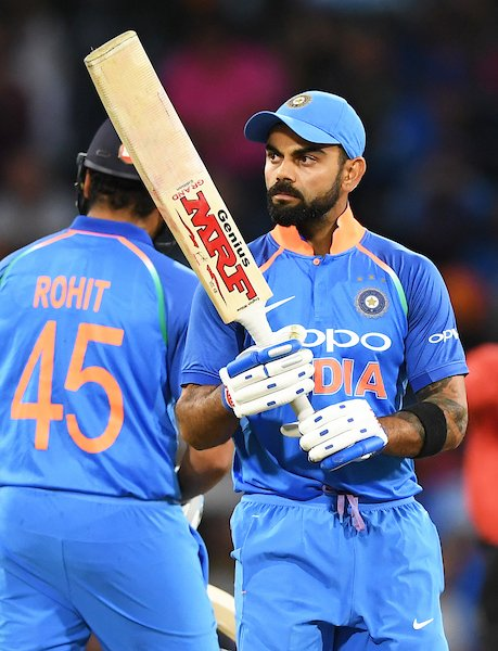 India Defeated New Zealand in one day series.