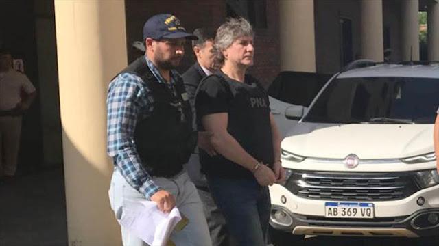 """Detenido exvicepresidente argentino por """"enriquecimiento ilícito"""""""