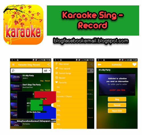 download aplikasi Karaoke Sing - Record gratis