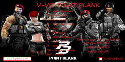 Download V-VIP Cheat Point Blank Garena Anti Banned 2017 (ProCHgame)
