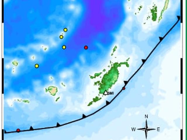 9 Gempa per 7 November 2019 di Tanimbar