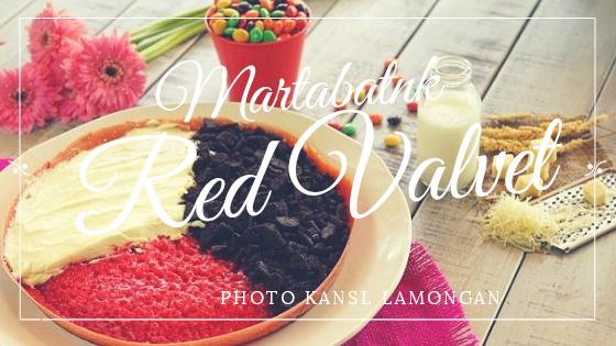 Martabak Red Valvet di Malang, Merah Menggoda Selera