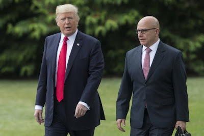 Donald Trump with McMaster