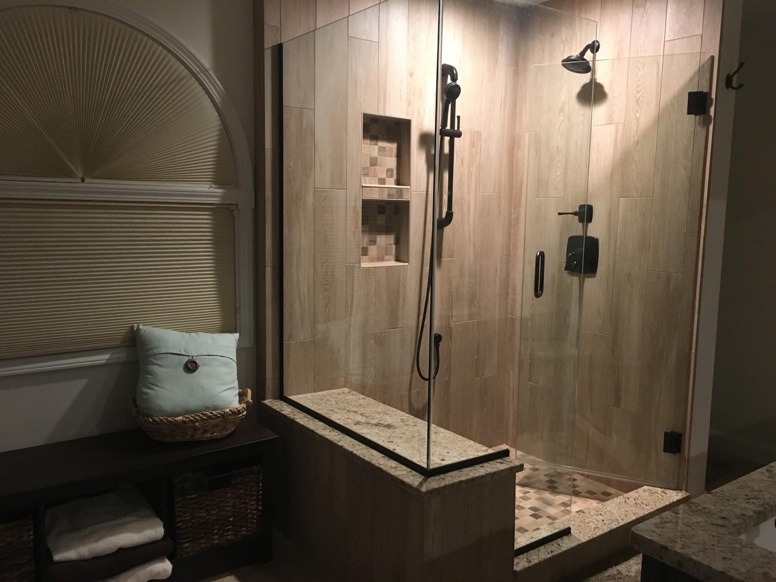 NEW SHOWER DOOR TURNED REMODELED BATHROOM – Calvetta Brothers