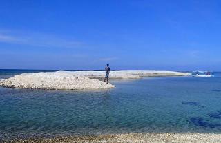 Gili Karang Mati di Lombok Timur