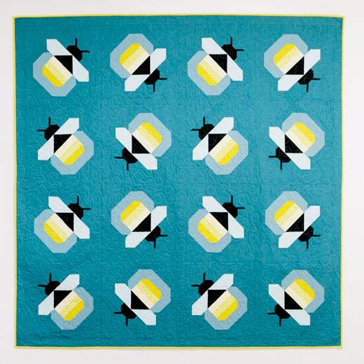 Firefly Quilt Designed by Katie Blakesley of Pattern Drop