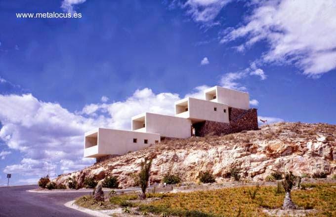 Casa contemporánea en Mazarrón Murcia España 1968