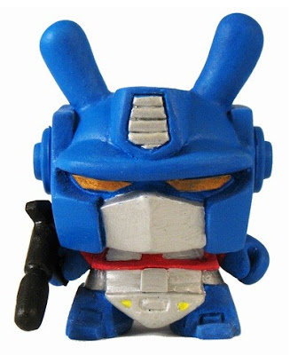 Optimus Prime Custom Transformers 3 Inch Dunny by Motorbot