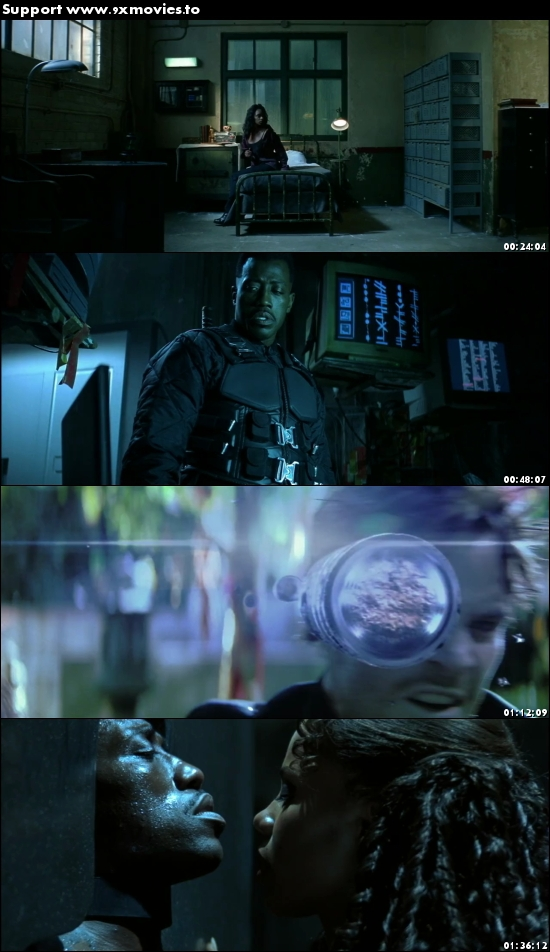 Blade 1998 Dual Audio Hindi 720p BluRay 950mb