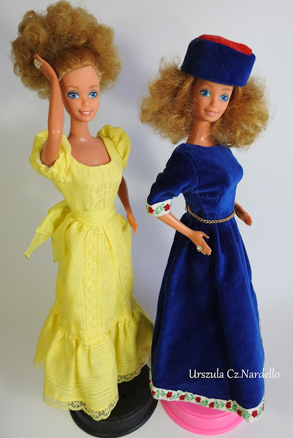 Magic curl Barbie z 1981 ... :)