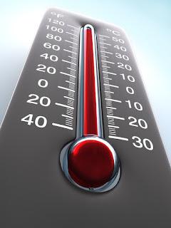 اسم يطلق علي مقياس لدرجة الحرارة
