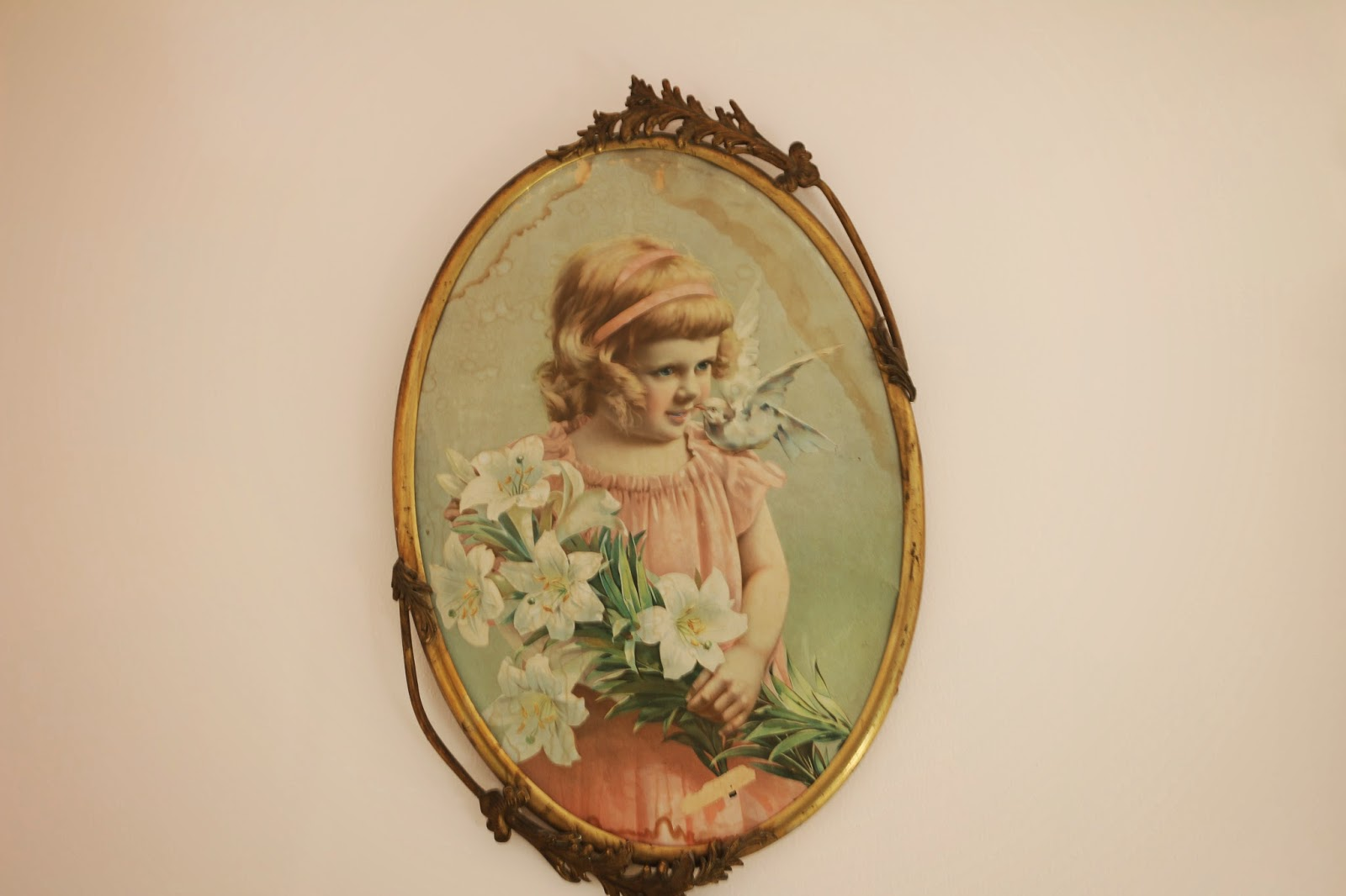 Precious Little Vintage Girl Picture, Living From Glory To Glory Blog...