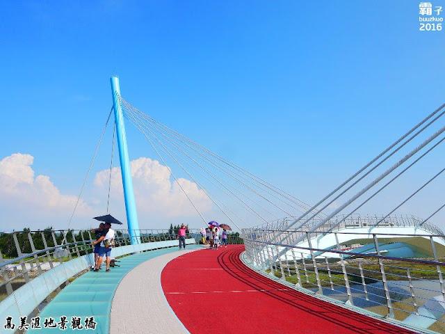 29580824100 dd71062f6b b - 高美濕地新地標再會了,耗資2億多元景觀橋剛啟用後就被颱風吹毀了