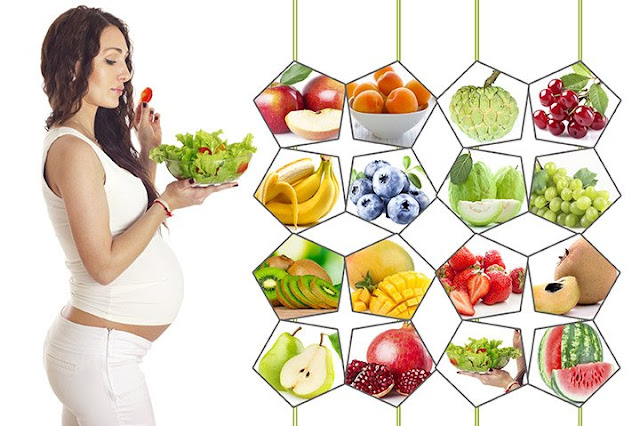Efficient food items for pregnancy
