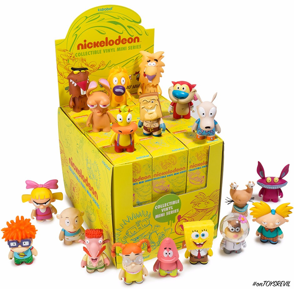 8d784b7481 Nickelodeon Nick 90s Blind Box Mini Series from Kidrobot Available Now!