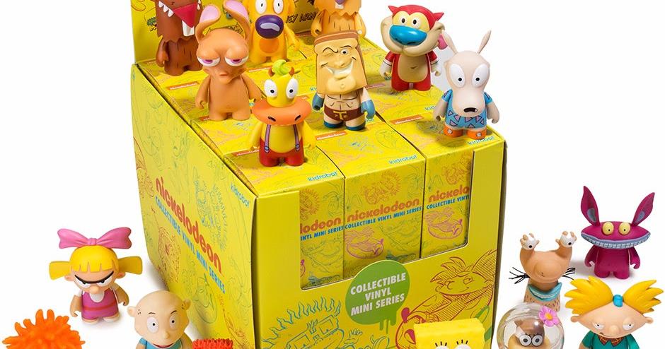 "Kidrobot Nickelodeon 90 S Mini Série Rocco 3/"" Figurine en vinyle Nick Blind Box 2//24"