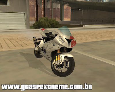 BMW S1000 RR para grand theft auto