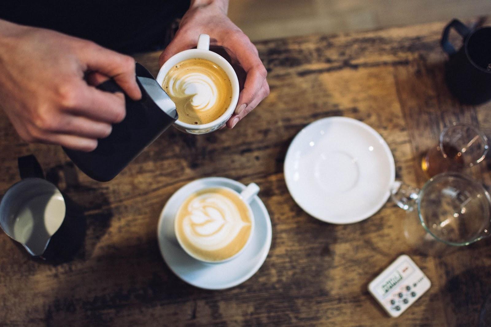 nejlepší kavárny Praha