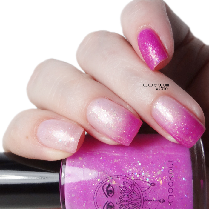 xoxoJen's swatch of Crystal Knockout  Strong Spirit