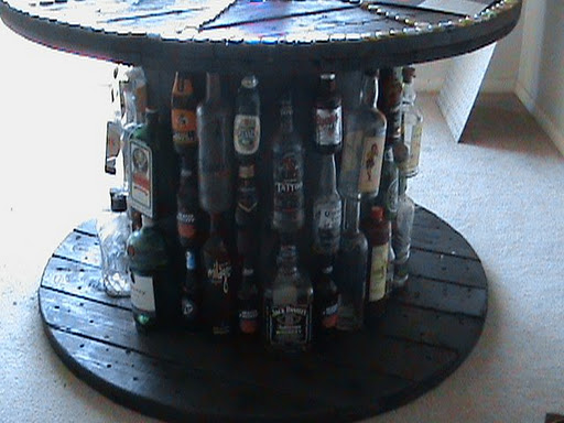 Maybe You Have A Den Or Man Cave Where Beer Is The Beverage Of Choice Wouldn T It Be Nice Dear Reader To Recycle Those Empty Bottles By Attaching